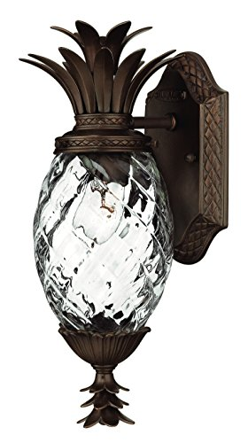 Hinkley 2226CB Traditional One Light Wall Mount from Plantation collection in Copperfinish,