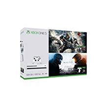 Xbox One S Gears & Halo Special Edition Bundle (500GB) [Discontinued]