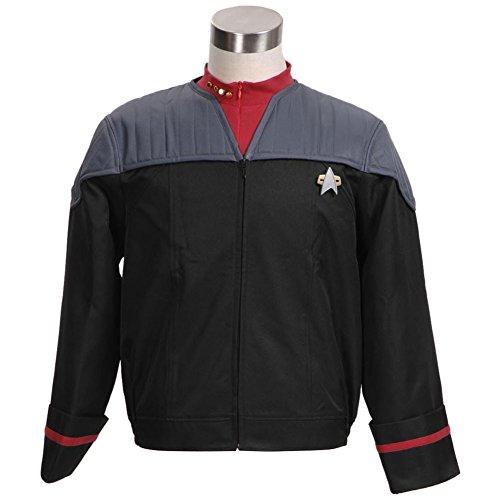 TISEA Star Fans Men's Men's Suit Jacket with Inner Shirt Nemesis Uniform Costume (XXL, ()