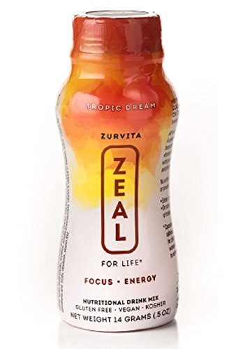 120 Servings Canister (New Zurvita Zeal for Life Tropic Dream Wellness Single Serve - 24 Servings)