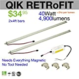 LED Waves Qik Retrofit LED Light Bars (2x4)