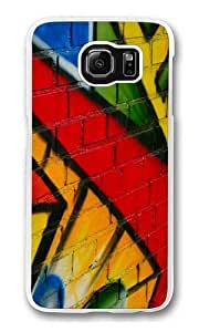 Graffiti Custom Samsung Galaxy S6/Samsung S6 Case Cover Polycarbonate Transparent wangjiang maoyi