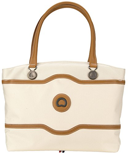 Delsey Luggage Chatelet Softside Luggage Women's Tote, Champagne by DELSEY Paris