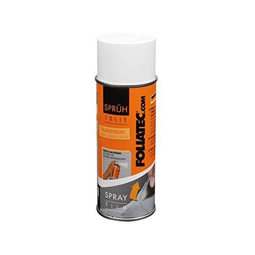 Foliatec 2024 Spray Film Retirable, Néon Rouge, 400 ml, Set de 2 transparent