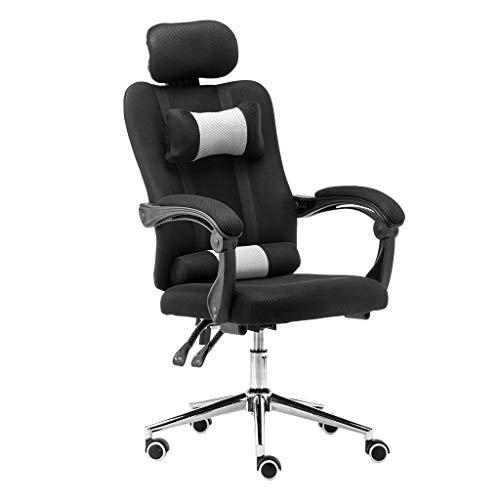 TLT Retail High Back Mesh Office Chair with Adjustable Armrest Lumbar Support Pillow Headrest Swivel Task Desk Chair Ergonomic Computer Chair -