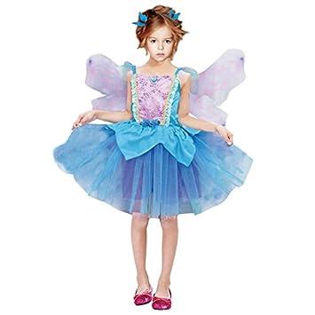 51ee75c00 Disfraz Hada Azul niña infantil para Carnaval (7-9 años): Amazon.es:  Juguetes y juegos