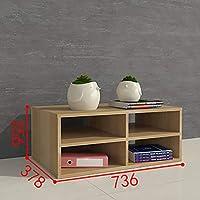 Cabinet Office Diy Locker Shelf Wooden Small Bookcase