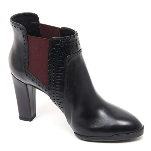 Tod's Woman Nero B8343 Shoe Tronchetto Boot T95 Donna Scarpa bordeaux 6EwxnFqfAw