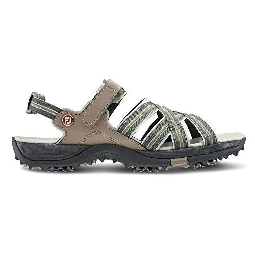 FootJoy Women's Sandals Golf Shoes Beige 10