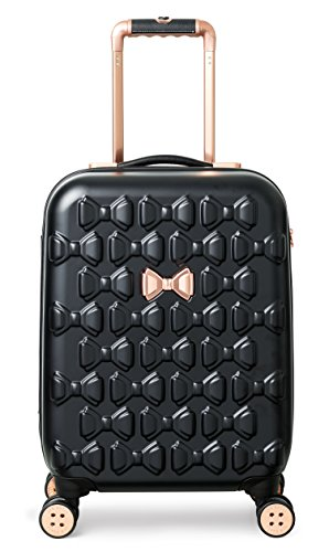 Ted Baker Women's Beau Collection Small Carry-on Hardside Spinner (Black)