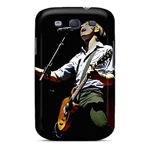 Shock Absorption Hard Phone Covers For Samsung Galaxy S3 With Unique Design Stylish Franz Ferdinand Band Skin AlissaDubois