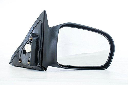 Dependable Direct Right Passenger Side Unpainted Non-Heated Power Operated Non-Folding Door Mirror for Honda Civic (Coupe Only), EX, HX, LX (2001 2002 2003 2004 2005) HO1321138