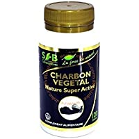 Sfb laboratoires - Charbon végétal activé nature - 120 gélules - Ventre plat et confort d'une bonne