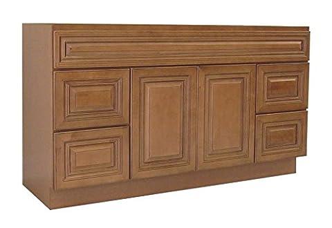 NGY COG-4821D Vanity Cabinet COG-4821D Maple Wood, 48