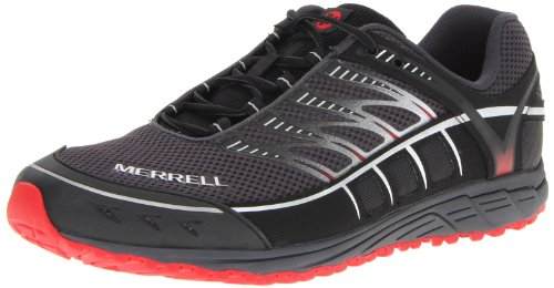 Merrell Men's Mix Master Trail Running Shoe,Black/Crimson,12 M US
