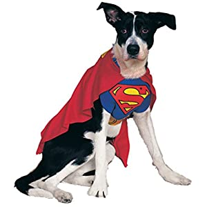Rubie's Costume DC Heroes and Villains Collection Pet Costume – Superman