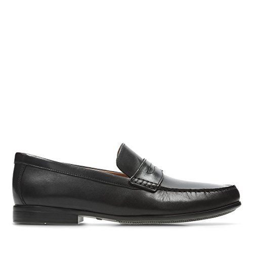 Clarks Shoes in Leather Black Lane Claude rSqrw1P