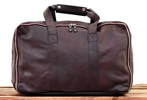 maletas TROTTER GLOBE color piel de viaje oscuro PAUL Bolso marrón MARIUS LE de F6qRw