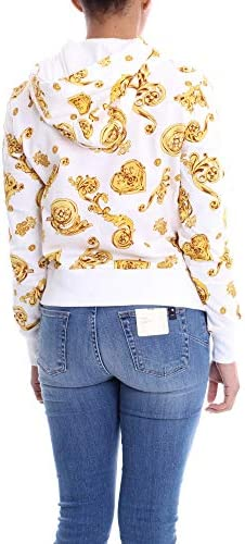 Versace B6 Hvb796 Sudadera Mujer Oro Blanco 42