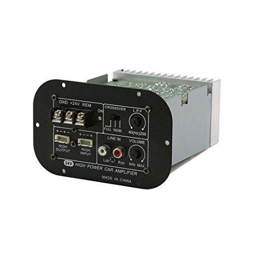 DealMux Cae 6-10 Inch udio falante estreo Amplificador de alta potncia Board DC 24V
