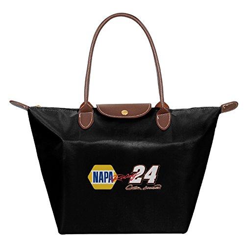 Chase Elliott NAPA 24 Signature Racing Waterproof Foldable Tote Bags Shopping Beach Shoulder Handbags Purse Tote Shoulder Bag - Beach Daytona Shopping