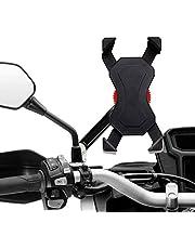 Universele fietshouder voor mobiele telefoon, verstelbaar en 360 graden draaibaar, smartphonehouderklem voor alle smartphones en GPS-apparaten tussen 3,5 en 6,5 inch