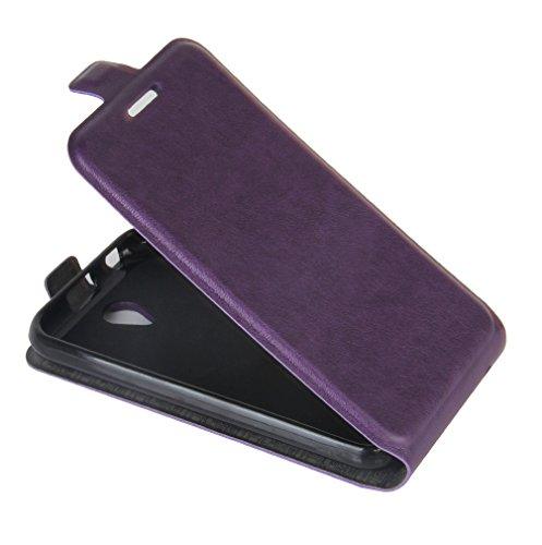 Funda ZTE Blade L110,Manyip Caja del teléfono del cuero,Protector de Pantalla de Slim Case Estilo Billetera con Ranuras para Tarjetas, Soporte Plegable, Cierre Magnético D