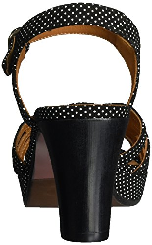 Femme Negro Chie Ouvert Inga Bout Schwarz Sandales Punti Mihara 8wxBXT8