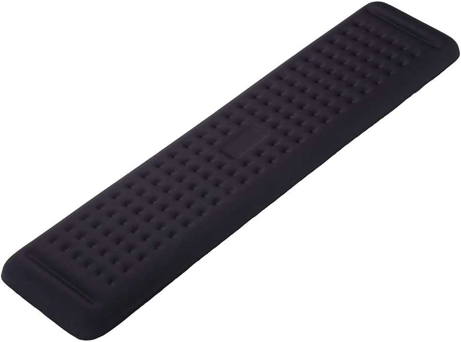 Aelfox Gaming Keyboard Wrist Rest, Memory Foam Wrist Support Wrist Pad for Keyboard Wrist Pain Relief for Office, Home Office, Computer, Laptop(17.32 x 3.94 x 0.79 inch)