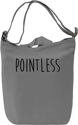 Pointless Borsa Giornaliera Canvas Canvas Day Bag| 100% Premium Cotton Canvas| DTG Printing|