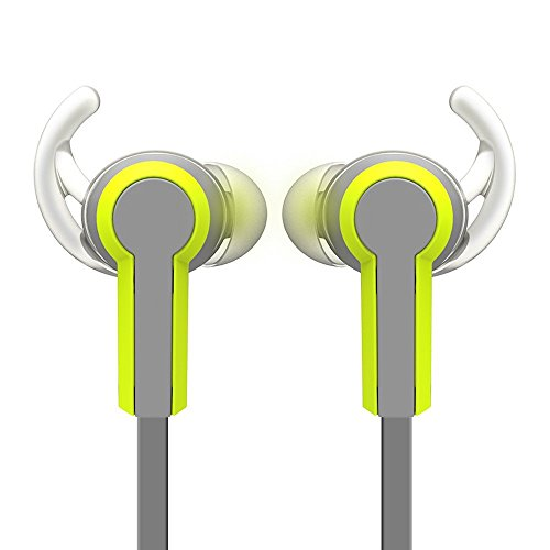 Wired In-Ear Sport Dual Earbuds Noise Isolating Sweatproof W
