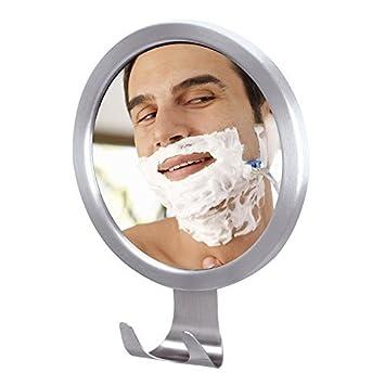 Ilikable Bathroom Fogless Mirror No Fog Shaving Home Suction Wall Shave With Razor Holder