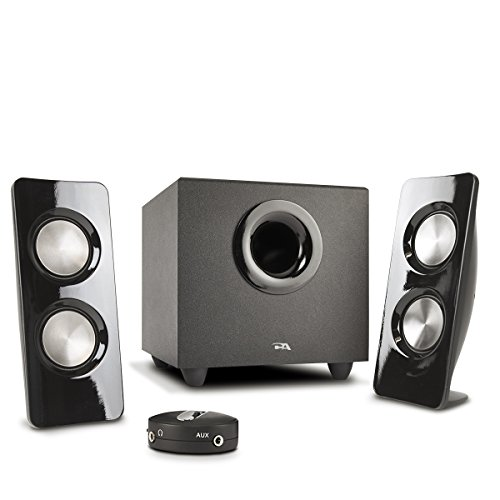 Cyber Acoustics Curve Storm 2.1 Speaker System - 22 W RMS -