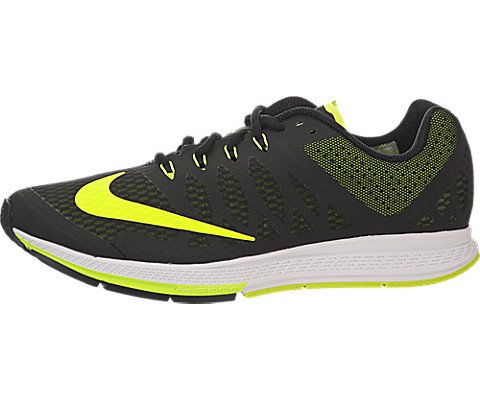 Nike Zoom Elite - Nike Men's Zoom Elite 7 Black/Volt/White Running Shoe 10 Men US