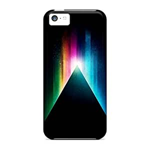 Top Quality For Iphone 5C Case Cover With Nice Prism Appearance