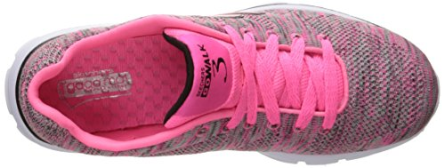 Skechers Damen Go Walk 3 Contest Sneakers WomenS Trainers Fitness Walking Goga Mat