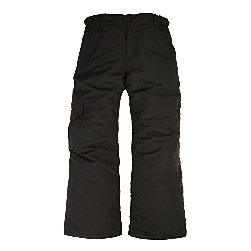 Ride Snowboard Outerwear Boy's Thunder Youth Pants, Black, X-Large by Ride Snowboard Outerwear