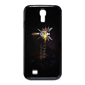 Leona Lol League Of Legends plastic funda Samsung Galaxy S4 9500 cell phone case funda black cell phone case funda cover ALILIZHIA12559