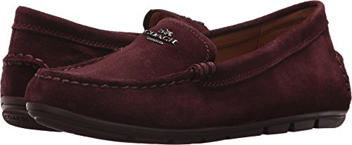 Coach Women's Mary Lock up Driver New Oxblood Suede 5 M US