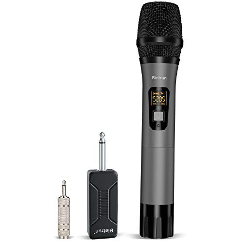 Wireless Microphone UHF Metal