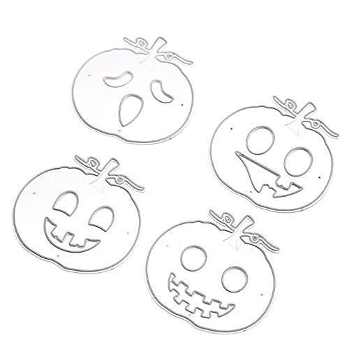 Laz-Tipa - Metal Dies Scrapbooking Pumpkin/Hands /Spider/Mummy/Cat Halloween Cutting Die Metal Stencil Scrapbooking Paper Cards Craft -