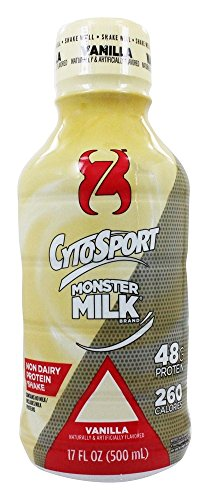 Cytosport - Monster Milk RTD Protein Shake Vanilla - 17 oz.