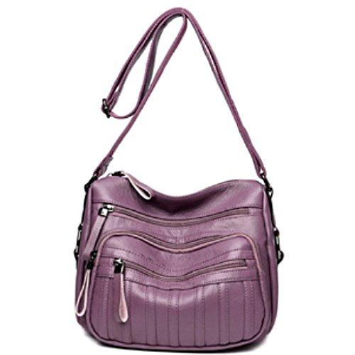Purple Femme à Sac Cuir Avec Pour Sac En HAOXIAOZI à Bandoulière Main xOqdwOY