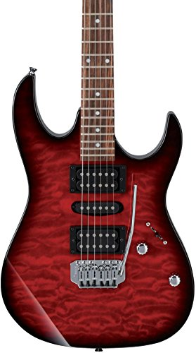 Ibanez GIO Series GRX70QA - Transparent Red Burst