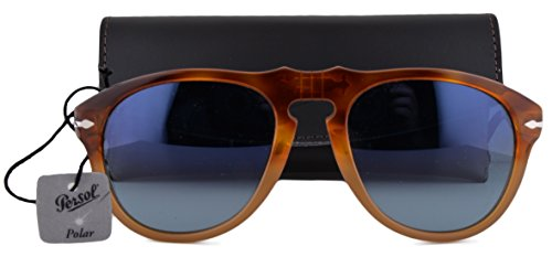 Persol PO0649S Sunglasses Resina E Sale w/Polarized Blue Gradient Lens 1025S3 - Sunglasses 0649 Persol