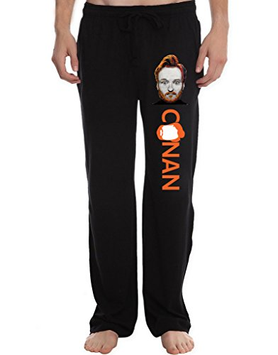 RBST Men's Conan O'Brien Lounge Pajama Pants M - Matt Cain Shirt