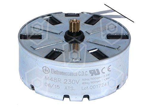 Moteur CDC pour Minuteur Ø 47mm 230V AC 50/60Hz droite type de moteur CODE m48r ATS Sens de rotation droite Gastroteileshop