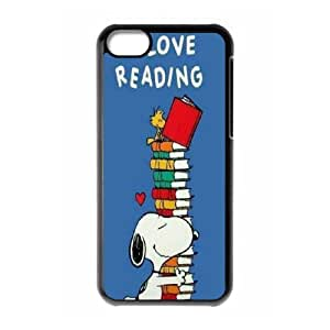 [Tony-Wilson Phone Case] For Iphone 5c -IKAI0448059-Cute & Funny Snoopy