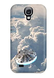 2015 8751665K36044078 Galaxy S4 Case Cover - Slim Fit Tpu Protector Shock Absorbent Case (star Wars Sci Fi People Sci Fi)