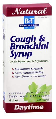 Boericke & Tafel Daytime Cough & Bronchial Syrup 4 oz (Pack 2)
